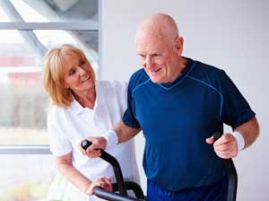 Image result for picture of cancer patient exercising